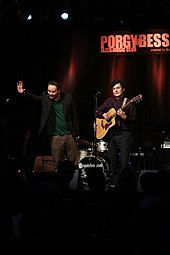 Österreichischer Kabarettpreis 2012 20 Manuel Rubey und Thomas Stipsits.jpg