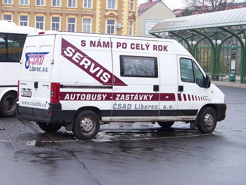 File:ČSAD Liberec, servisní vozidlo.jpg