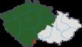 Čechy do roku 1920 a změna hranice po připojení Vitorazska.png