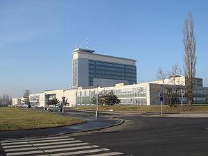 Česká televize - Česká televize building in Prague