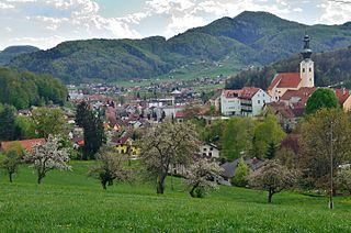 Šentjur Town in Styria, Slovenia