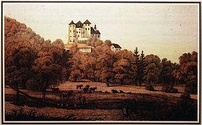 Žusem Castle 1830.jpg