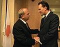 Ο ΥΠΕΞ κ.Δ.Δρούτσας με τον Κύπριο Πρέσβυ στην Αθήνα κ.Ι.Ιωσήφ (5060051761).jpg