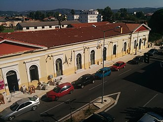 Pyrgos, Elis - The railway station, another work of Ziller