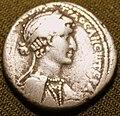 Антоний и Клеопатра серебряная тетрадрахма 02.jpg