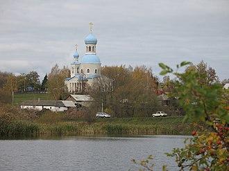 Gubkinsky District - Arkhangelsk Church, Arkhangelsk Village, Gubkinsky District