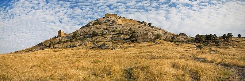 File:Генуезька фортеця (Судак). Панорама.jpg