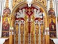 Грецька Всіхсвятська церква Іконостас фото 03.JPG