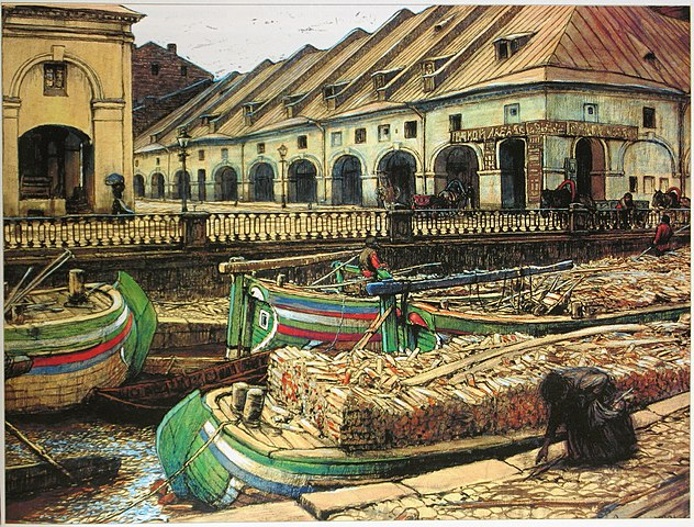 Никольский рынок в Петербурге. 1901