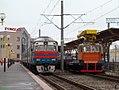 МПТ6-336, Belarus, Gomel region, Gomel station (Trainpix 162603).jpg