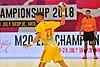 М20 EHF Championship FAR-MKD 28.07.2018 SEMIFINAL-6409 (41888647710).jpg