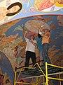 Никольская надвратная церковь Б-Г монастыря. Внутренняя роспись сводов..jpg