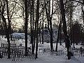 Никольское кладбище г. Сергиев Посад. Вид с кладбища на церковь Сошествия Святаго Духа.jpg
