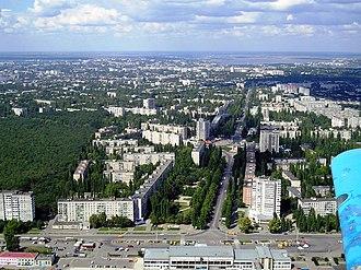 Mykolaiv - Soviet-era apartment blocks in Mykolaiv.