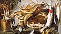 Паоло Порпора Рослини і риби в плетеному кошику.jpg