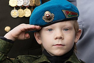Military brat child of a military member of any country