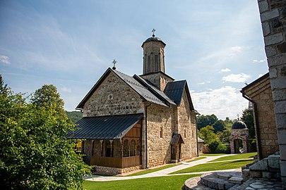 Православна црква и манастир Св. Благовијести, Липље, Теслић 03.jpg