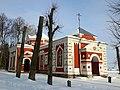 Старое Высокае. Свята-Георгіеўская царква ўзімку (01).jpg