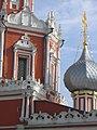 Церковь Знамения Богородицы на Шереметьевом Дворе (центральный восьмерик, деталь).JPG