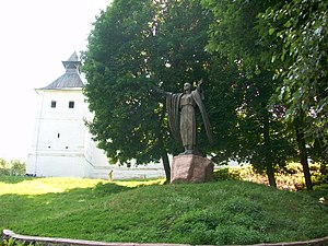 Novhorod-Siverskyi - Image: Цитадель та Ярославна в Новгород Сіверському