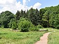 Чаша Поющего фонтана в Лечебном парке. В настоящее время заброшен и постепенно разрушается.jpg