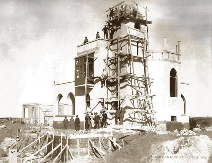 בית ביאליק בהקמה תל אביב 1926