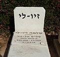 המצבה על קברו של שלמה זיו-לי.jpg