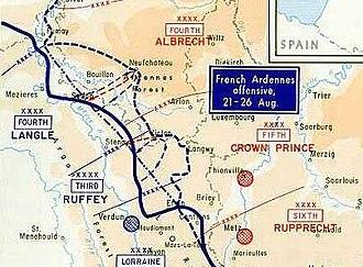 Battle of the Ardennes - Battle of the Ardennes, 1914