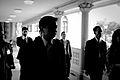 นายกรัฐมนตรี บันทึกกล่าวคำปราศรัยเนื่องในวันอนุรักษ์มร - Flickr - Abhisit Vejjajiva (3).jpg