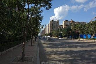Kuancheng District - Image: 九台北路 jiu tai bei lu panoramio