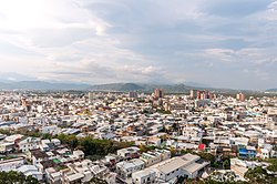 View of Taitung City