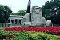 海南国际旅游岛——海口人民公园冯白驹雕像(西南向) - panoramio.jpg