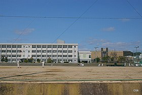 県立西条農業高等学校 Agricultural high school - panoramio.jpg