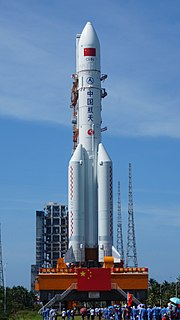 Long March 5 Chinese next-generation heavy lift launch system
