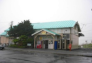 Rikuzen-Takata Station - Rikuzen-Takata Station in June 2002
