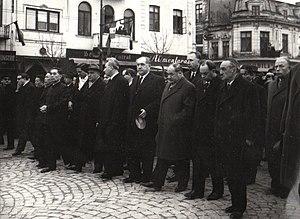 Gheorghe Gheorghiu-Dej - At Gheorghiu-Dej's funeral.