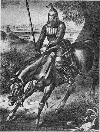 Livonian campaign of Stephen Báthory - Muscovite cavalryman