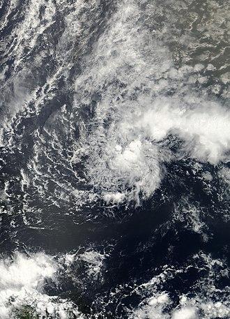 2003 Atlantic hurricane season - Image: 02L 2003 06 11 1355Z