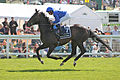 036 Epsom Derby 2015 - Jack Hobbs and William Buick going to post (18401224558).jpg