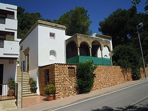 Raoul Villain - The House of Raoul Villains in Bay of Cala de San Vicent as it stands in 2013