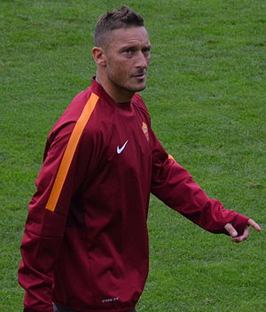 Francesco Totti - Totti with Roma in 2014