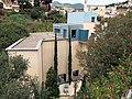 072 Fundació Palau (Caldes d'Estrac), des del parc de Can Muntanyà.JPG