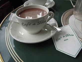 Café de Flore - Hot chocolate