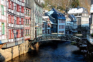 Rur - The Rur in Monschau