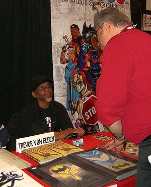 Trevor Von Eeden - Von Eeden at the 2012 New York Comic Con.