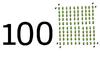 100 (tal)