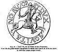 1141 page 051et 506 environ contre sceau de Louis VII le jeune 1137-1180.JPG