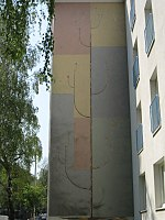 1160 Lorenz Mandl-Gasse 7-9 - Wandmosaik Baum von Carry Hauser 1959 IMG 2817.jpg