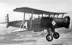 Washington Air National Guard - 116th Observation Squadron - Douglas O-38 30-414  The squadron operated this type of aircraft between 1931-1940.  Note the squadron emblem on the fuselage.