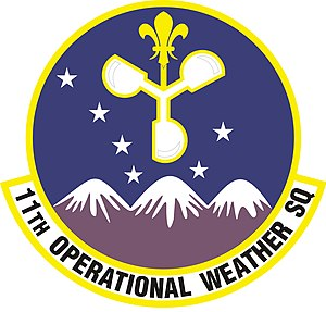 11th Operational Weather Squadron - Image: 11th Operational Weather Squadron Emblem